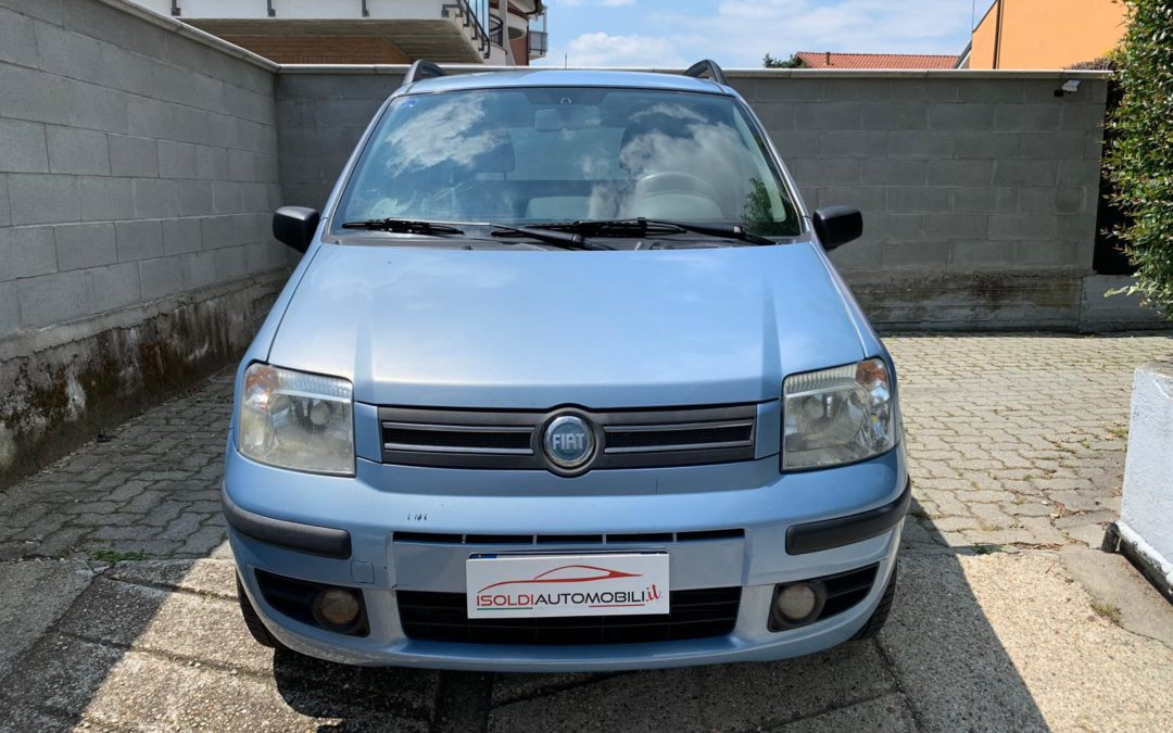 Fiat Panda Dynamic 2008 metano