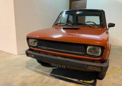 Fiat 127 primissima serie del 1979 iscritta asi